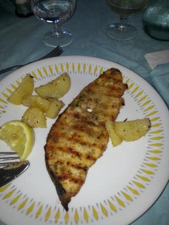 San Giorgio Hotel: pesce spada