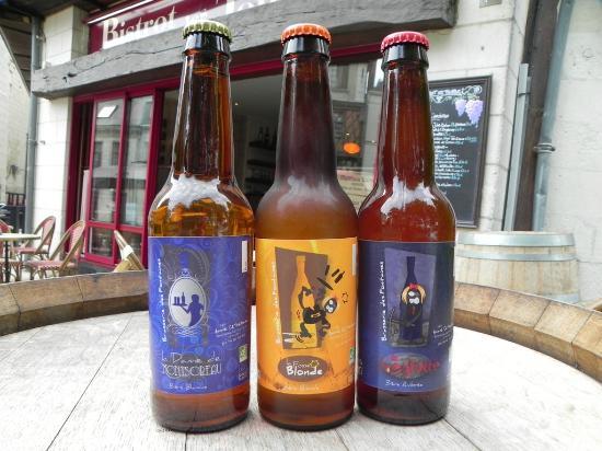 Bistrot Les Tontons : We serve Bio beers too!!