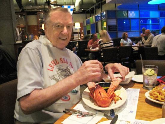 Legal Sea Foods : With favorite my Maine lobster