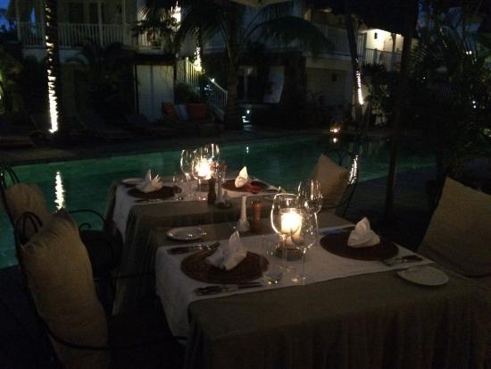 Restaurant du 20 Degres Sud : Очень романтичная атмосфера 😋