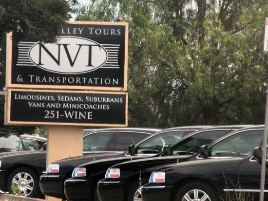 Napa Valley Tours & Transportation, 407 Soscol Avenue, Napa, Ca