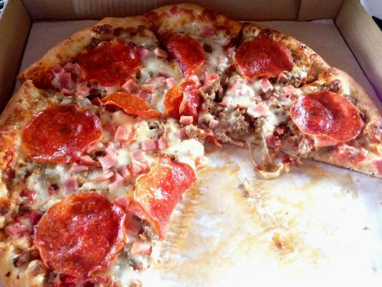 Stone Deck Pizza: 5-Meat Pizza Delivered