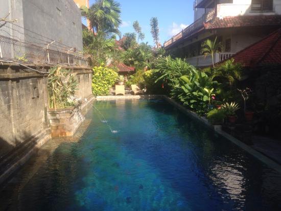 Restu Bali Hotel: 手前にあるプール