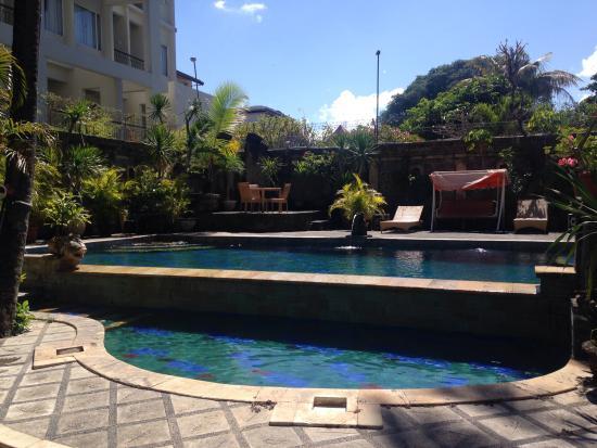 Restu Bali Hotel: Main Pool(Front angle)