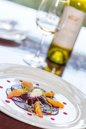 Долина Барроса, Австралия: Beetroot carpaccio from the Summer 2015 menu