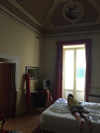 Hotel San Nicola: Awrsome room, lots of space, great decorations