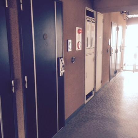 Hotel Livemax Higashi Ueno: 各階フロアーに4室のレイアウト