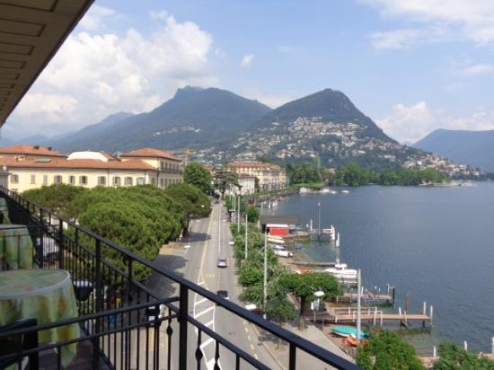 Hotel Walter au Lac : view from the balcony