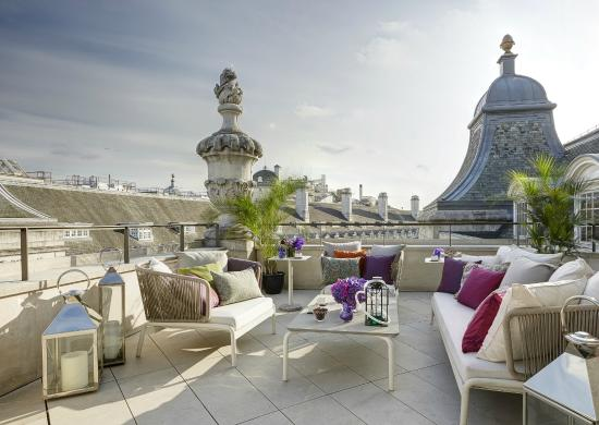 Dome penthouse terrace picture of hotel cafe royal for Terrace hotel london