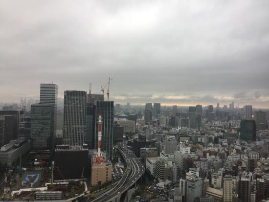 Mandarin Oriental, Tokyo: view from our room
