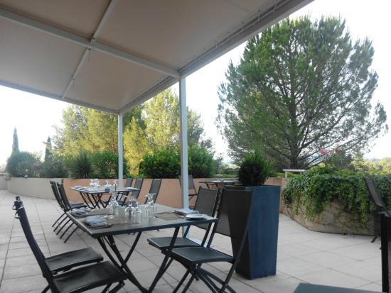 Hotel Royal Mirabeau by HappyCulture: Vue de la terrasse