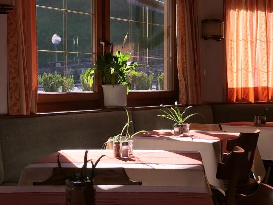 Hotel Vajolet: Vista dalla colazione