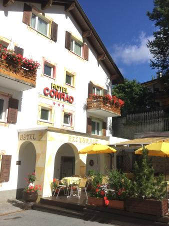 Hotel Conrad Scuol: Picturesque