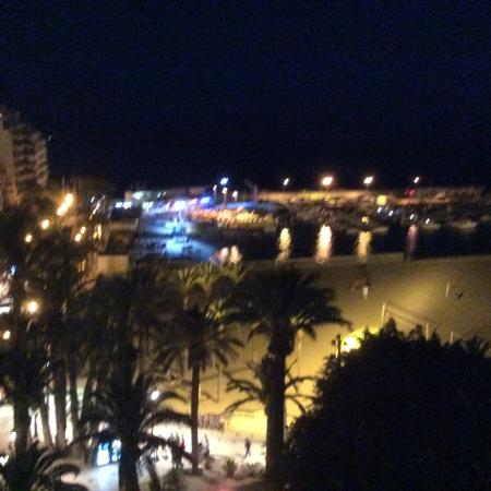 Tanit : Ponienta Beach at Night