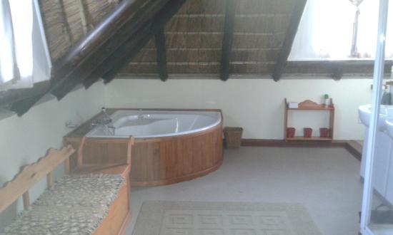 Boven Villa: fabulous bath