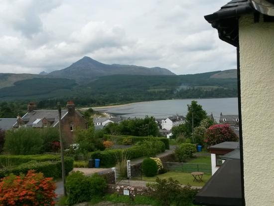 The Glenartney : View from room to bay