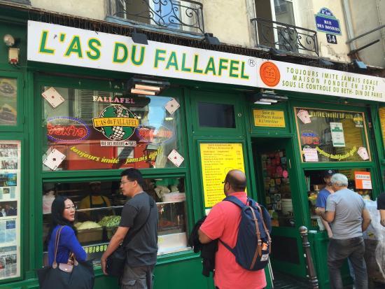 Le Marais: Great Falafel place
