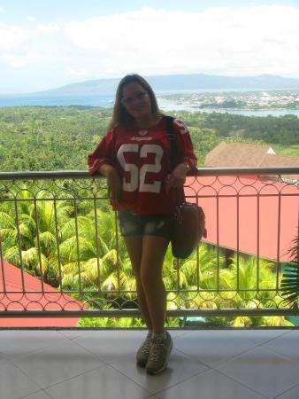 Bohol Plaza Resort: outside the hotel room