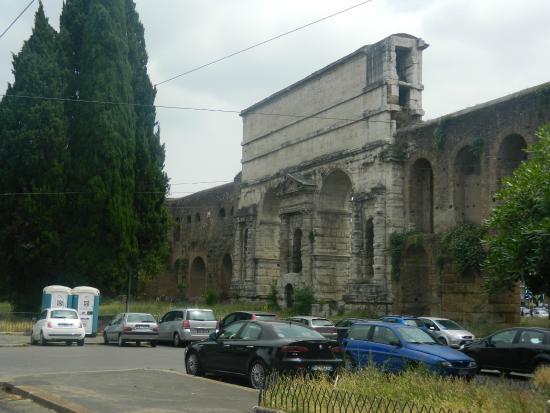Porta maggiore picture of porta maggiore rome tripadvisor - Rome porta maggiore ...