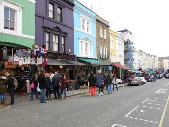 famous portobello market picture of notting hill london tripadvisor. Black Bedroom Furniture Sets. Home Design Ideas