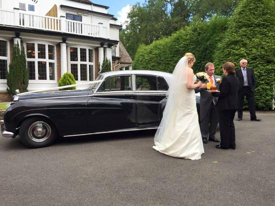 Chartridge Lodge: Formal entrance