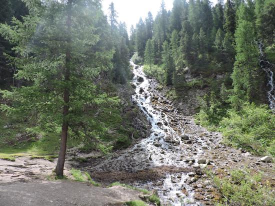 Rifugio Baita alle Cascate: le cascate