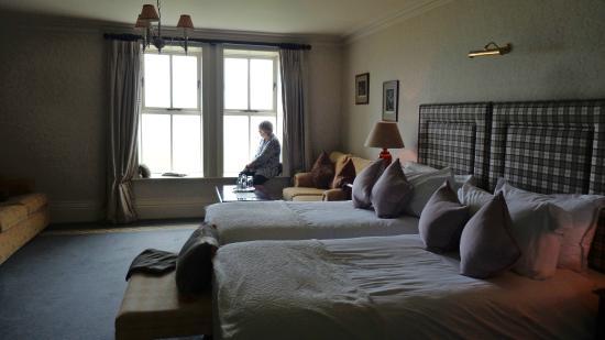 Moy House: la chambre (partiel)