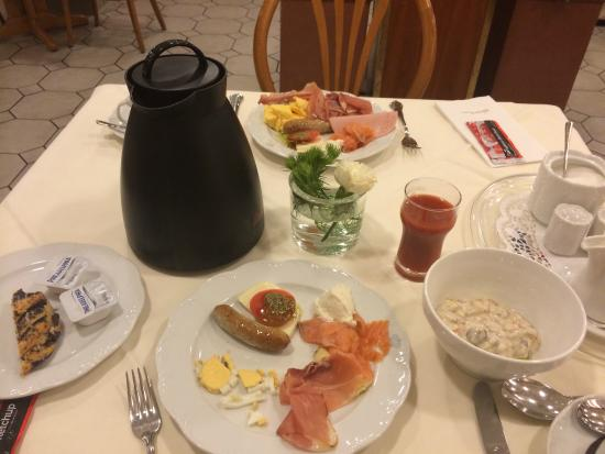 Advena Europa Hotel Mainz: 朝食