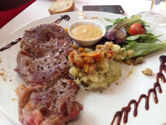 Dessert picture of la maison blanche bayeux tripadvisor for Restaurant la maison blanche montpellier