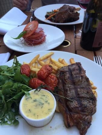 Two good meals in recent days