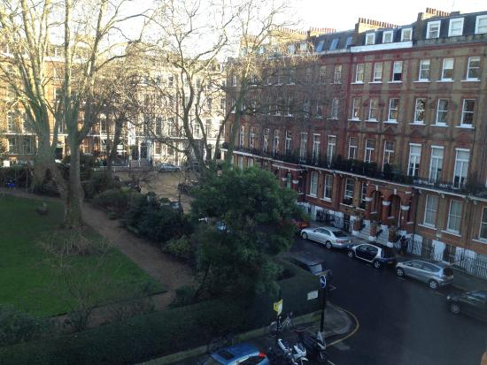 Garden View Hotel: vista dalla camera