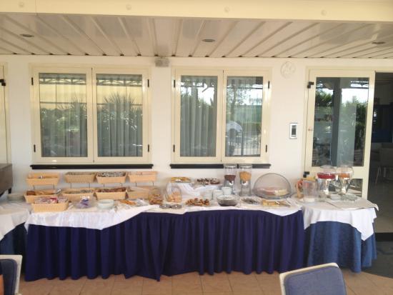 Blues Hotel: Buffet colazione