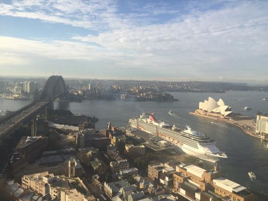 The Langham, Sydney: View from our room (3313)