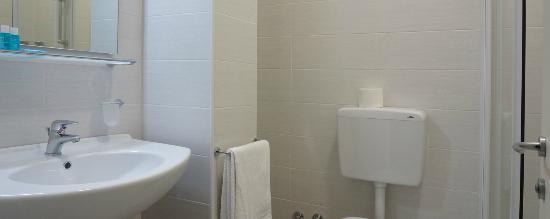 Hotel Continental : bagno