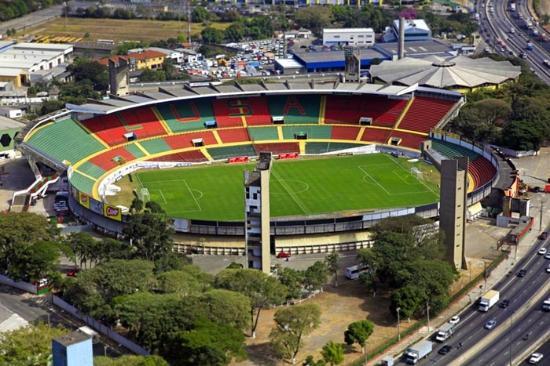 Estadio Doutor Oswaldo Teixeira Duarte (Estadio do Caninde)