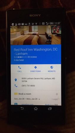 Red Roof Inn Washington, DC   Lanham Picture