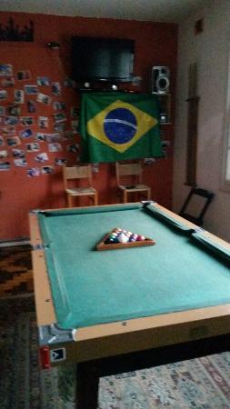 Hostel Porto Do Sol : Sala de Estar com Jogos