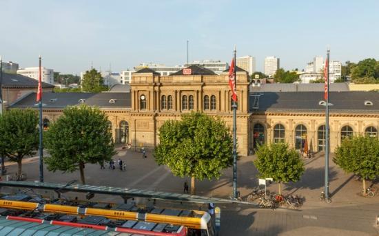 Hotel Koenigshof: А вот и вокзал
