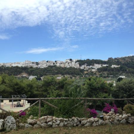 Trattoria Pastorello: die Aussicht auf Peschici