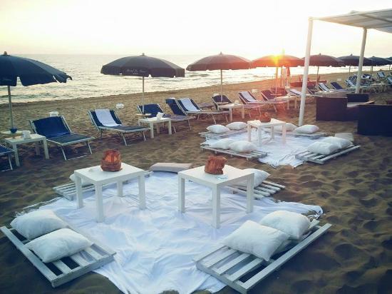 Le Dune Hotel: Eventi in Spiaggia