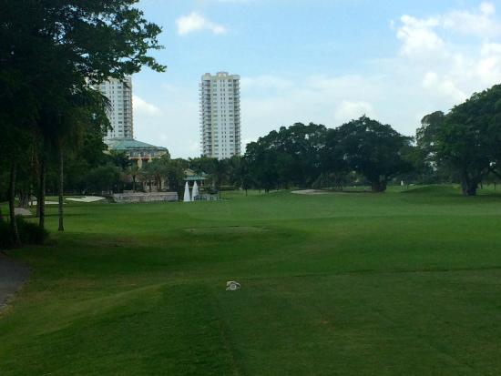 The Diplomat Golf & Tennis Club: Hole #9