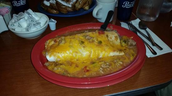kitchen sink breakfast burrito - picture of sam's no. 3, denver