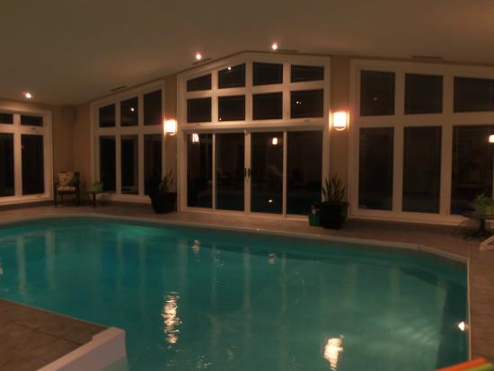 indoor pool lighting luxury colonial creekside grand guest house indoor pool night lighting picture of