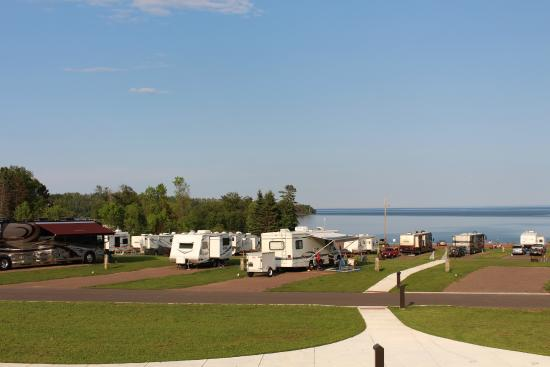 Burlington Bay Campground: newer section