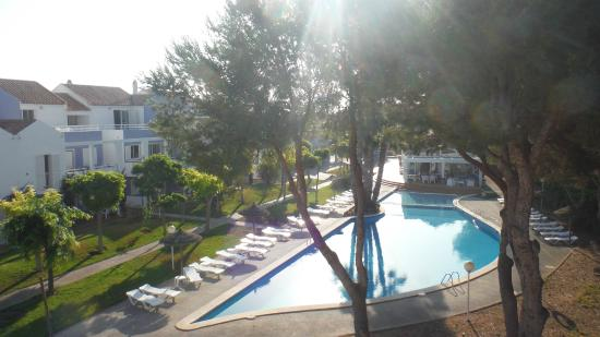 Club Ciudadela: View from the apartment