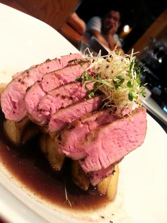 Perfectly cooked Tenderloin Steak with Teranino sauce