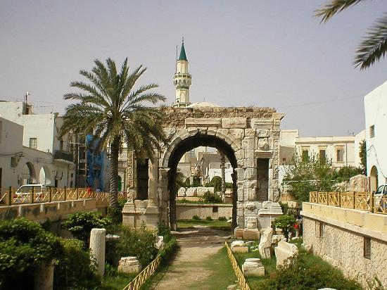 The Arch of Marcus Aurelius