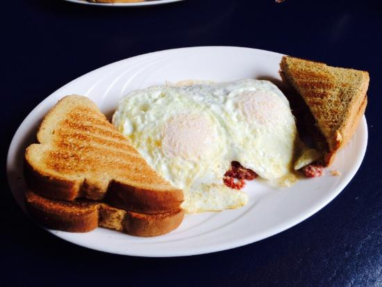 Williamstown, MA: Hash and eggs