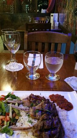 Cafe Istanbul : Lamb chop dinner