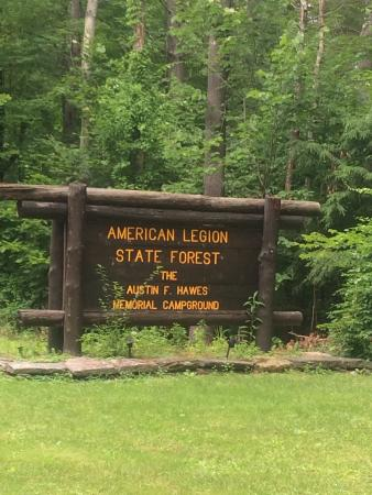 ‪American Legion and Peoples State Forests‬